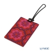 Images D'orient 'Sejjadeh - Ruby' Red & Purple LUG340081 Luggage Tag 10x5.5cm