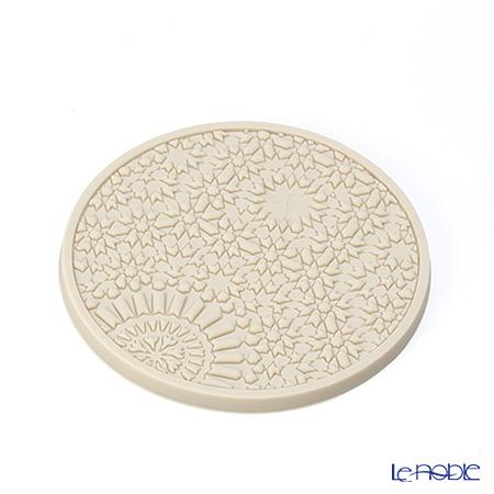 Images D'orient 'Urban - Pearl' Beige COA100201 Round Coaster 11cm