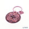 イマージュ・ドゥ・オリエント EUS キーホルダー オーキッドKEY300118 ピンク×グレー系