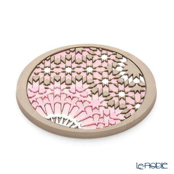 イマージュ・ドゥ・オリエント EUS ソープレスト モザイクパウダー SOP770091 ピンク×ベージュ (ソープディッシュ)