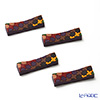 Images D'orient 'Sejjadeh - Prune' Brown & Purple CTH140034 Knife Rest 7cm (set of 4)