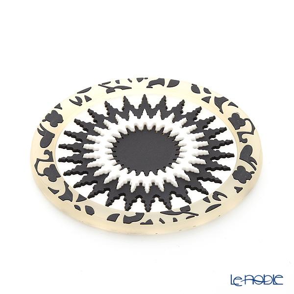 イマージュ・ドゥ・オリエント EUS ソープレスト モザイク SOP770071 ブラック×ホワイト (ソープディッシュ)