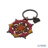 Images D'orient 'Tzigane' Red & Yellow KEY300115 Round Keychain 5cm