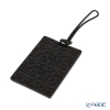 Images D'orient 'Ebony Rosace' Black LUG340071 Luggage Tag 10x5.5cm