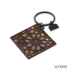 Images D'orient 'Moucharabieh' Brown KEY300113 Square Keychain 5cm