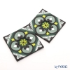 Image-de Orient EUS coaster 2 pcs the Jade forest COA990332 Greens