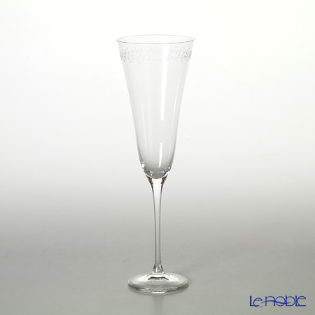 Rona punt etching (tiny reef line) Champagne Flute 160 mL