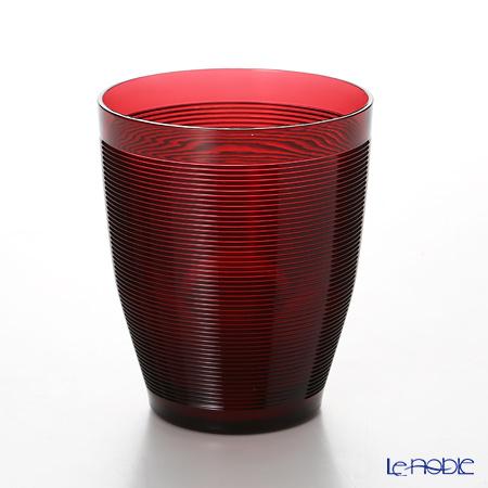 イタレッセ FRESNEL フレスネル タンブラー レッド 360cc AS樹脂製