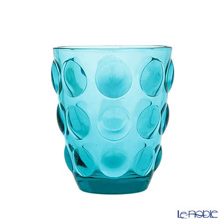 イタレッセ ガラスタンブラー ボッレ ブルー 340cc ガラス製
