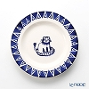 Emma Bridgewater / Earthenware 'Lion / Mary Feeden' Blue Plate 17cm