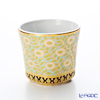 Pinsuwan Benjarong 'Flower' Turquoise Blue White Gold Free Cup