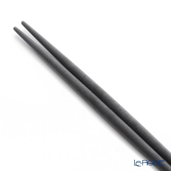 Cutipol 'GOA' Black & Matte finish Gold Chopsticks 22.5cm & Chopstick Rest