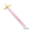 Cutipol 'GOA' Pink & Matte finish Gold  hopsticks + Chopstick Rest set