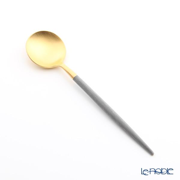 クチポール ゴア GOA グレー/ゴールド コーヒー/ティースプーン 13cm マット仕上げ