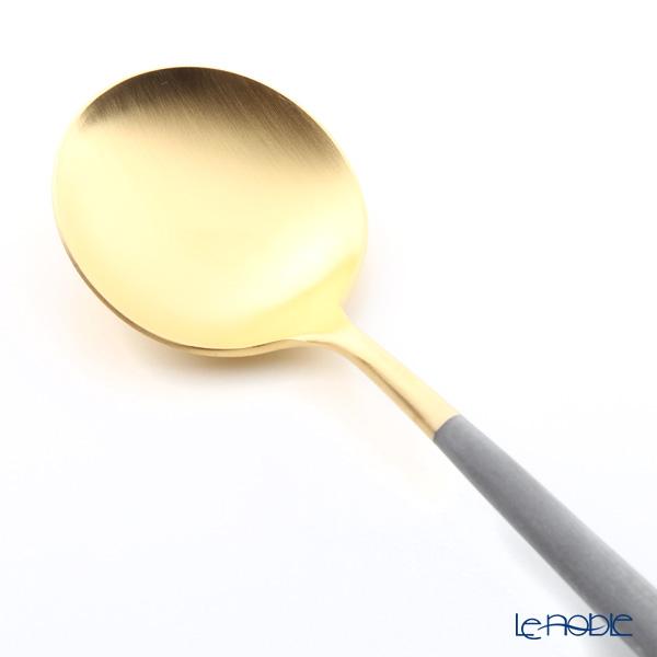 Cutipol 'GOA' Grey & Matte finish Gold Table Spoon 21cm