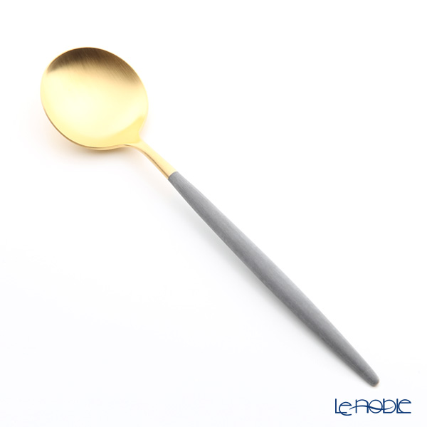 クチポール ゴア GOA グレー/ゴールド テーブルスプーン 21cm マット仕上げ