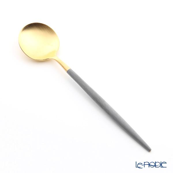 クチポール ゴア GOA グレー/ゴールド デザートスプーン 18cm マット仕上げ
