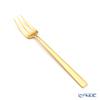 Cutipol 'DUNA' Matte finish Gold Pastry Fork 15cm