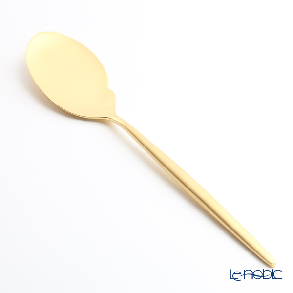Cutipol 'MOON' Matte finish Gold Gourmet Spoon 22cm