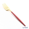 Cutipol GOA Red & Matte finish Gold Table Fork 21.5 cm