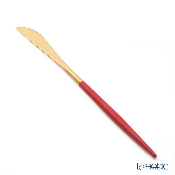 Cutipole Gore GOA Red/Gold Matte Finish Dessert knife 20cm