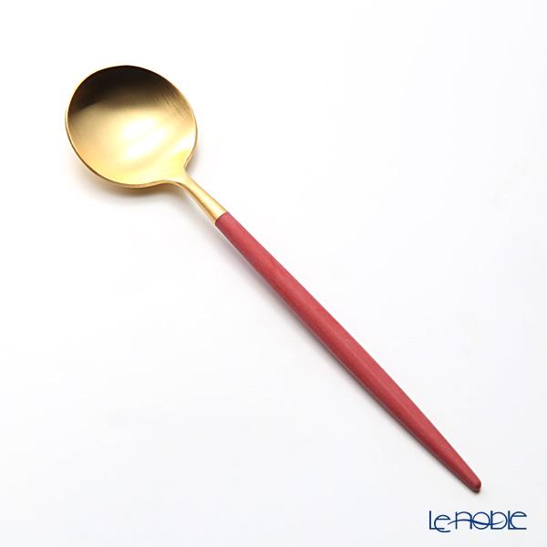CTI pole Goa GOA blue / silver Dessert spoon 39724705 matte finish