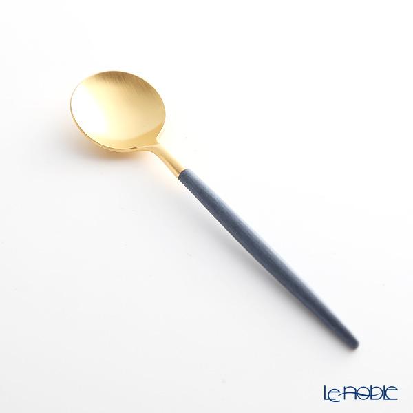 クチポール ゴア GOA ブルー/ゴールドコーヒー/ティースプーン 13cm マット仕上げ