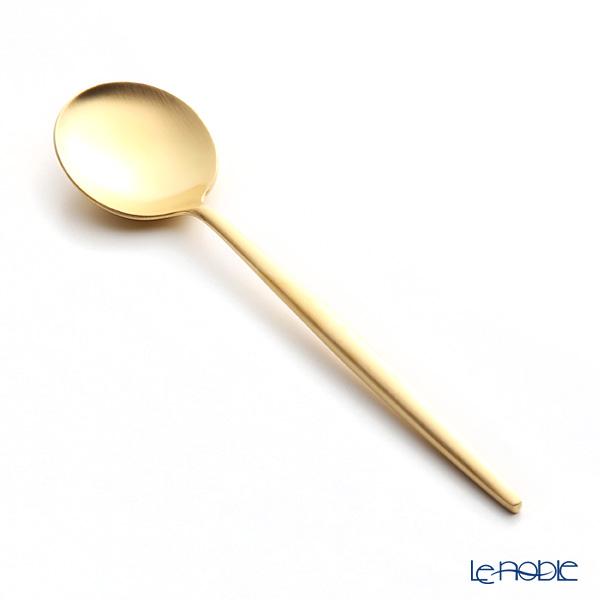 クチポール ムーン MOON MATT GOLD ゴールド デザートスプーン 17cm マット仕上げ