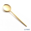 Cutipol 'MOON' Matte finish Gold Dessert Spoon 16.5cm