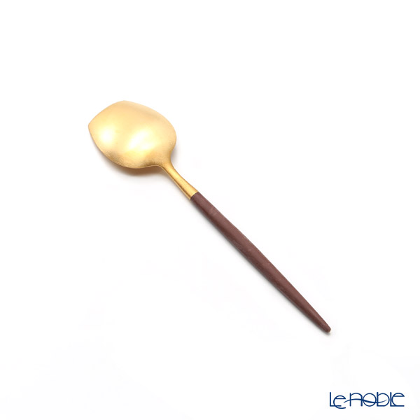 Cutipol 'GOA' Brown & Matte finish Gold Sugar Ledle 12.5cm