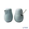 VIVA Scandinavia 'NINA' Pale Blue Sugar 130ml & Creamer 200ml with Spoon
