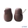 VIVA Scandinavia 'NINA' Powder Brown Sugar 130ml & Creamer 200ml with Spoon