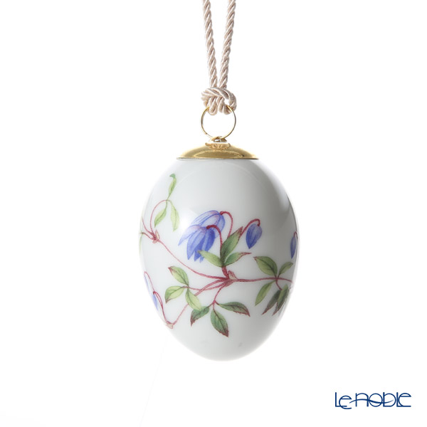 Royal Copenhagen 'Spring Collection' Clematis 2019 Easter Egg H7cm 1027145