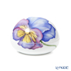 Royal Copenhagen 'Spring Collection - Pansy' [2020] 1252032/1051093 Round Box / Bonbonniere 10cm