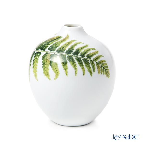 ロイヤルコペンハーゲン(Royal Copenhagen) スプリングコレクション ベース 花瓶 Fern シダ H13cm 1252033/1051094 2020