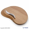 Georg Jensen Forma Serving board/cheese board with all round cheese knife 3390247