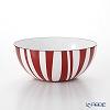 Katherine Holm stripe Red Bowl 14 cm
