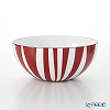 Catherine Holm 'Stripe' Red Bowl 18cm