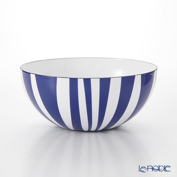 キャサリンホルム ストライプボウル ブルー 18cm