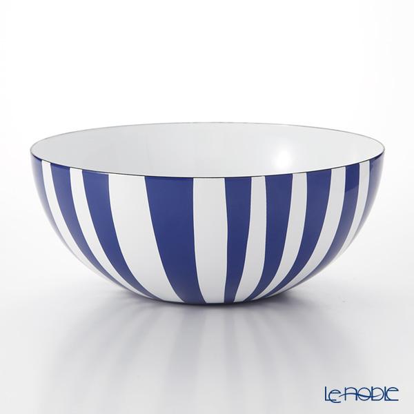 キャサリンホルム ストライプ ボウル ブルー 24cm