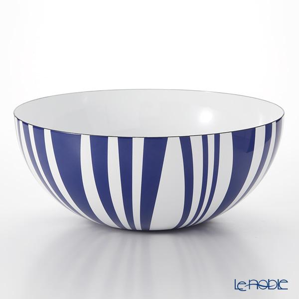 キャサリンホルム ストライプ ボウル ブルー 30cm