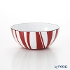 Catherine Holm 'Stripe' Red Bowl 10cm