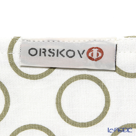 オルスコフ(ORSKOV) ランチョンマットリング ベージュ コットン100%