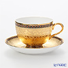 Branbenjalon industrial clusters chakrirmatgold Tea Cup & Saucer