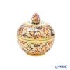 Buran Benjarong 'Lotus Flower' Round Box 6cm