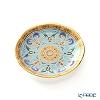 Buran Benjarong 'Cho Luei' Turquoise Blue Mini Plate 8cm