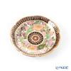 Buran Benjarong 'Lotus' White Mini Plate 8cm