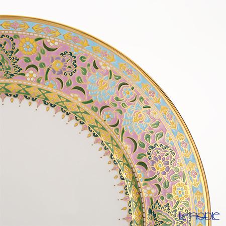 ブランベンジャロン工房 ボタニカルブーケ ピンクプレート 19cm