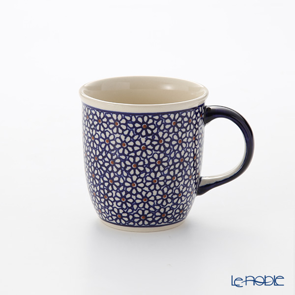 ポーリッシュポタリー(ポーランド陶器) ボレスワヴィエツ マグ 350ml/9.7cm 1105/120
