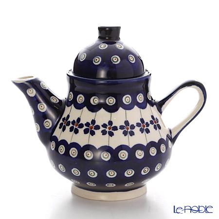 ポーリッシュポタリー(ポーランド陶器) ボレスワヴィエツ コーヒーポット 250ml/14cm 163/166A